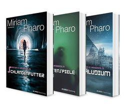 Sektion 3|Hanseapolis. Die komplette Sci-Fi-Trilogie in einem Bundle (Schlangenfutter / Schattenspiele / Präludium) von Pharo,  Miriam