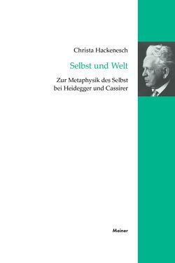 Selbst und Welt von Hackenesch,  Christa