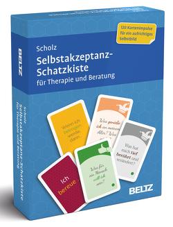 Selbstakzeptanz-Schatzkiste für Therapie und Beratung von Scholz,  Falk Peter