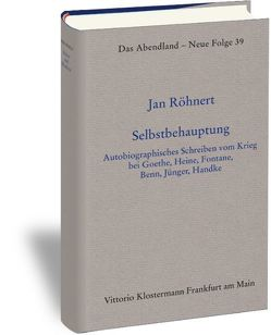 Selbstbehauptung von Röhnert,  Jan