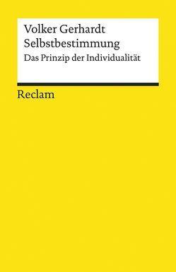 Selbstbestimmung von Gerhardt,  Volker