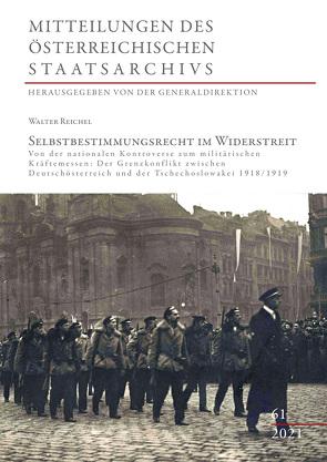 Selbstbestimmungsrecht im Widerstreit von Generaldirektion des ÖStA, Reichel,  Walter