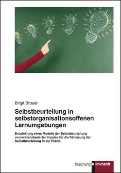Selbstbeurteilung in selbstorganisationsoffenen Lernumgebungen von Brouër,  Birgit