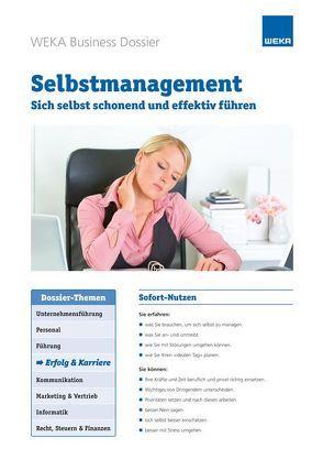 Selbstmanagement von Eberle,  Heike