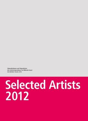 Selected Artists 2012