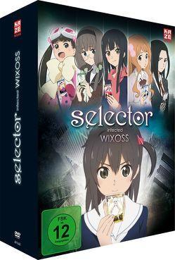 Selector Infected Wixoss – DVD 1 (2 DVDs) + Sammelschuber von Satō,  Takuya
