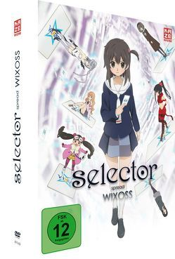 Selector Spread Wixoss – DVD Box 1 + Sammelschuber von Satō,  Takuya