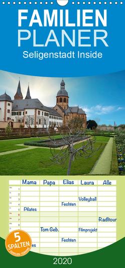 Seligenstadt Inside – Familienplaner hoch (Wandkalender 2020 , 21 cm x 45 cm, hoch) von Eckerlin,  Claus