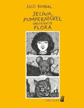 Selina, Pumpernickel und die Katze Flora von Bohdal,  Susi