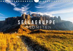 Sellagruppe. Dolomiten (Wandkalender 2019 DIN A4 quer) von Gospodarek,  Mikolaj