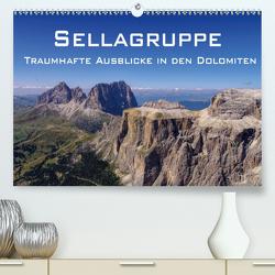 Sellagruppe – Traumhafte Ausblicke in den Dolomiten (Premium, hochwertiger DIN A2 Wandkalender 2021, Kunstdruck in Hochglanz) von LianeM