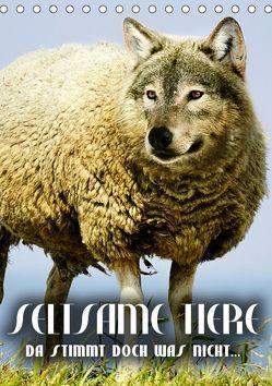 Seltsame Tiere – da stimmt doch was nicht… (Tischkalender 2019 DIN A5 hoch) von Bleicher,  Renate