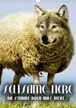 Seltsame Tiere – da stimmt doch was nicht… (Wandkalender 2020 DIN A3 hoch) von Bleicher,  Renate