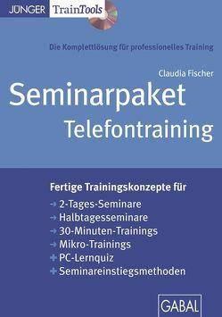 Seminarpaket Telefontraining (CD-ROM) von Fischer,  Claudia