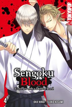 Sengoku Blood – Contract with a Demon Lord 04 von Kosumi,  Fujiko