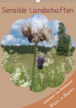 Sensible Landschaften , Sommer im Hochmoor (Wandkalender 2019 DIN A3 hoch) von Munir