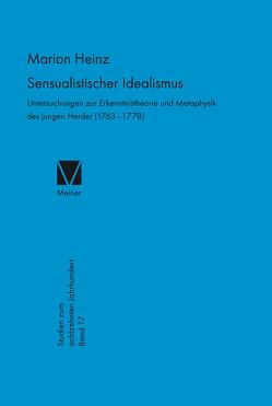Sensualistischer Idealismus von Heinz,  Marion