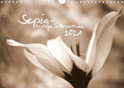 Sepia – Nostalgie in Brauntönen (Wandkalender 2021 DIN A4 quer) von tinadefortunata