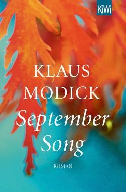 September Song von Modick,  Klaus