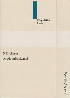 Septemberkarst von Ahrens,  S.F.