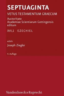 Septuaginta. Vetus Testamentum Graecum. Auctoritate Academiae Scietiarum… / Septuaginta. Band 16,1 von Fraenkel,  Detlef, Ziegler,  Joseph