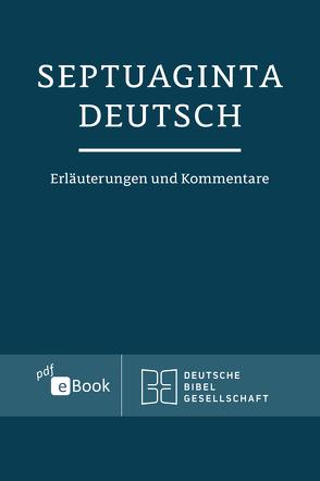 Septuaginta Deutsch von Karrer,  Martin, Kraus,  Wolfgang