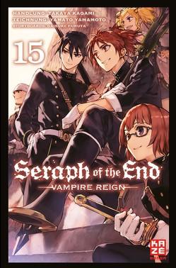Seraph of the End 15 von Caspary,  Costa, Furuya,  Daisuke, Kagami,  Takaya, Yamamoto,  Yamato
