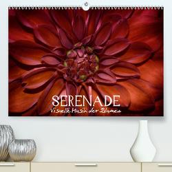 Serenade – Visuelle Musik der Blumen (Premium, hochwertiger DIN A2 Wandkalender 2020, Kunstdruck in Hochglanz) von Photon,  Vronja