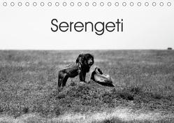 Serengeti – Tansanias Nationalpark in schwarz-weiß (Tischkalender 2020 DIN A5 quer) von #michaelsnapshot