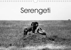 Serengeti – Tansanias Nationalpark in schwarz-weiß (Wandkalender 2020 DIN A4 quer) von #michaelsnapshot