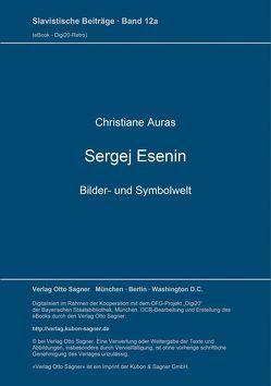 Sergej Esenin – Bilder- und Symbolwelt von Auras,  Christiane