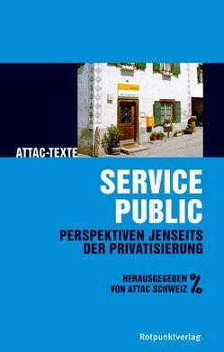 Service public von Bürgin,  Daniel;Friche