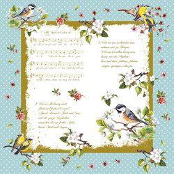 Servietten »Alle Vögel sind schon da«
