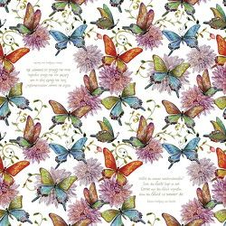 Servietten »Schmetterlinge« von von Goethe,  Johann Wolfgang