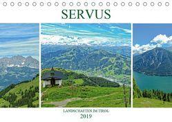 Servus. Landschaften im Tirol (Tischkalender 2019 DIN A5 quer) von Michel / CH,  Susan