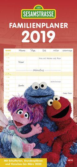 Sesamstraße Familienplaner – Kalender 2019 von Heye