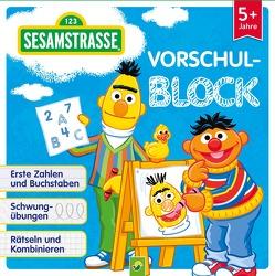 Sesamstraße Vorschulblock ab 5 Jahren