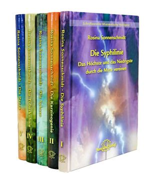 """Set der Schriftenreihe """"Miasmatische Heilkunst"""" in 5 Bänden von Sonnenschmidt,  Rosina"""