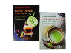 Set: Die Saft-Therapie & Die Grüntee-Therapie von Sonnenschmidt,  Rosina