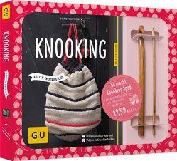 Set: Knooking – Häkeln im Stricklook von Borck,  Dorothee