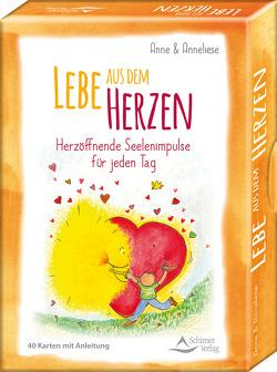 Lebe aus dem Herzen. Herzöffnende Seelenimpulse für jeden Tag von Brandt,  Anne, Tschenett,  Anneliese