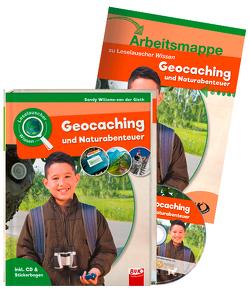 Set: Leselauscher Wissen: Geocaching und Naturabenteuer (inkl. CD) von Willems-van der Gieth,  Sandy