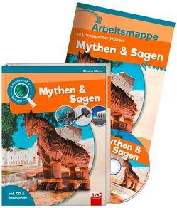 Set: Leselauscher Wissen: Mythen und Sagen (inkl. CD) von Mann,  Simone