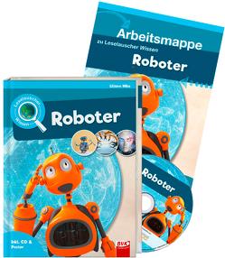 Set: Leselauscher Wissen: Roboter (inkl. CD) von Mika,  Liliane
