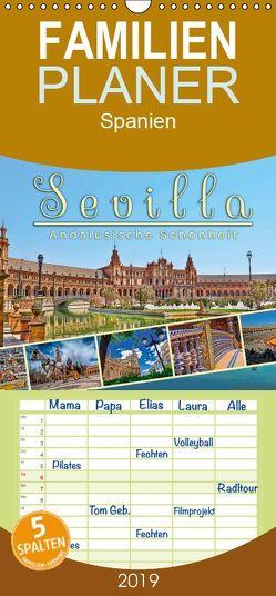 Sevilla, andalusische Schönheit – Familienplaner hoch (Wandkalender 2019 , 21 cm x 45 cm, hoch) von Roder,  Peter