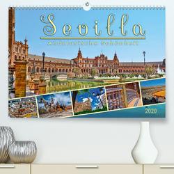 Sevilla, andalusische Schönheit (Premium, hochwertiger DIN A2 Wandkalender 2020, Kunstdruck in Hochglanz) von Roder,  Peter