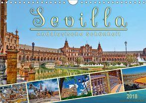 Sevilla, andalusische Schönheit (Wandkalender 2018 DIN A4 quer) von Roder,  Peter