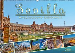 Sevilla, andalusische Schönheit (Wandkalender 2019 DIN A2 quer) von Roder,  Peter