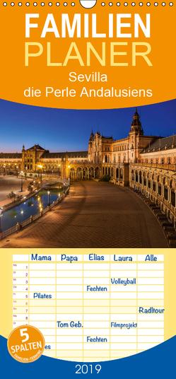 Sevilla die Perle Andalusiens – Familienplaner hoch (Wandkalender 2019 , 21 cm x 45 cm, hoch) von 2016 Atlantismedia,  (c)