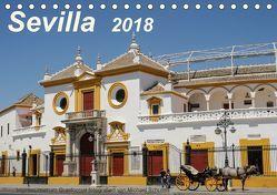 Sevilla Impressionen im Querformat 2018CH-Version (Tischkalender 2018 DIN A5 quer) von Schultes,  Michael